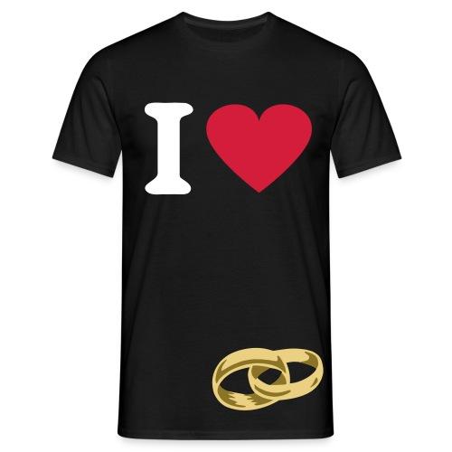 ILOVE - Camiseta hombre