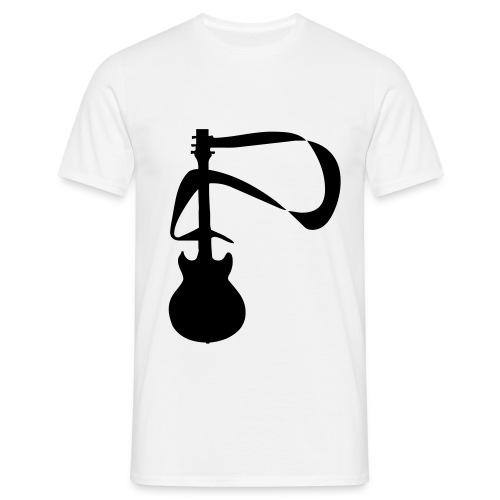 Guitar shirt - Männer T-Shirt