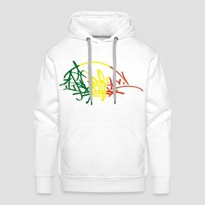Sweatshirt à capuche Homme Ikon Rastafarie - Sweat-shirt à capuche Premium pour hommes