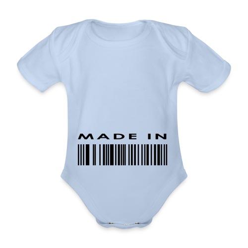 Body! Para bebe! - Body orgánico de maga corta para bebé