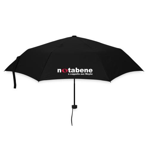 notabene Regenschirm - Regenschirm (klein)