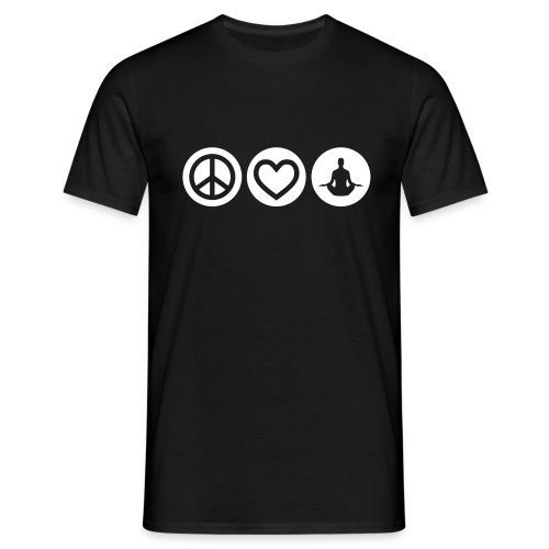 Yoga-Fan-Shirt 005 - Männer T-Shirt