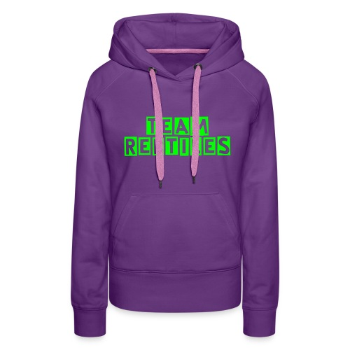 Ladies Team Reptiles Hoody  - Women's Premium Hoodie