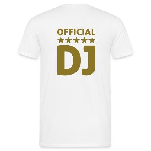 Official DJ - T-shirt Homme