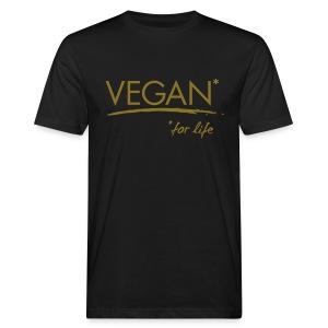 Mens - VEGAN* for life - Männer Bio-T-Shirt
