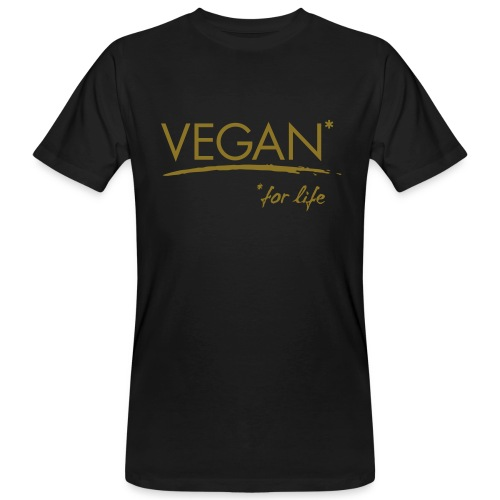 Mens - VEGAN* for life - Männer Bio-T-Shirt