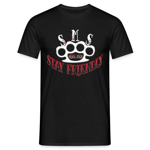 SMS-Friendly - Männer T-Shirt