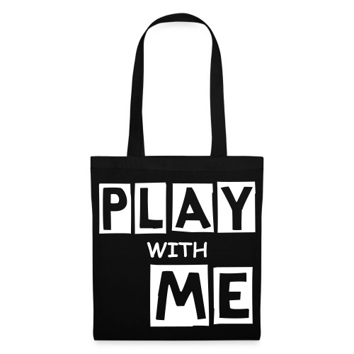 PLAY WITH ME|BLACK| PART NO oNE.oNE.oNE - Stoffbeutel