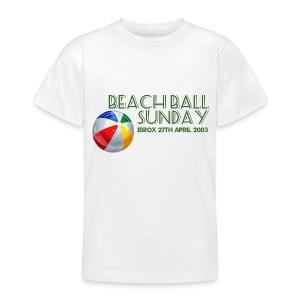 Beachball Sunday - Teenage T-shirt