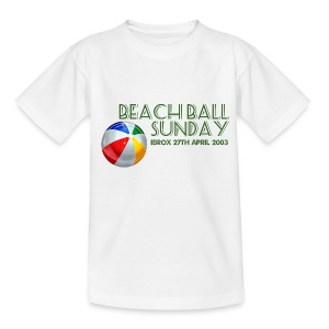 Beachball Sunday - Teenage T-shirt