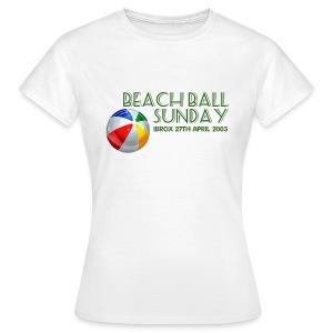 Beachball Sunday - Women's T-Shirt