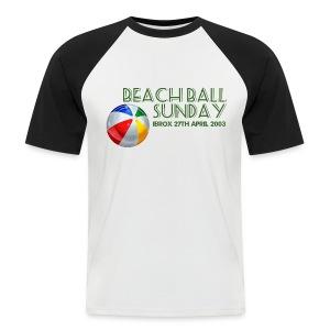 Beachball Sunday - Men's Baseball T-Shirt