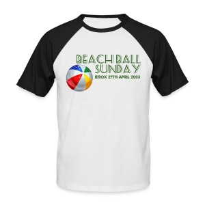 Beachball Sunday - Men's Baseball T-Shirt