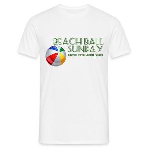 Beachball Sunday - Men's T-Shirt