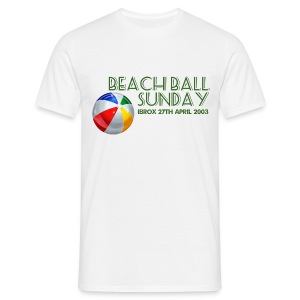 Beachball Sunday - Men's T-Shirt