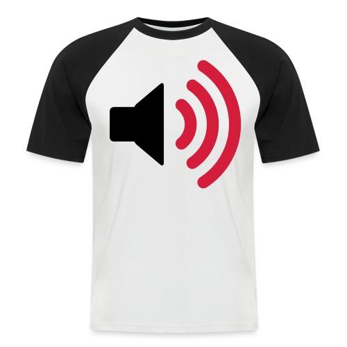 MUSIC - SPEAKER - VOLUME - Men's Baseball T-Shirt