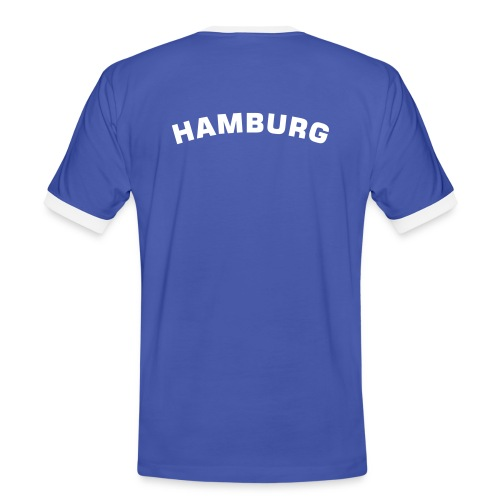 Hamburg Fanshirt - Männer Kontrast-T-Shirt