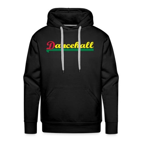 Dancehall / red gold and green - Männer Premium Hoodie