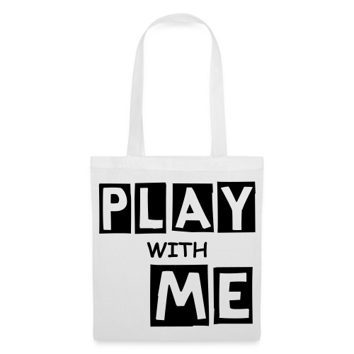 PLAY WITH ME|WHITE| PART NO oNE.oNE.oNE - Stoffbeutel