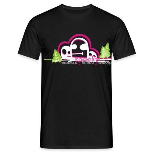 Spooky Ghost Men - Männer T-Shirt