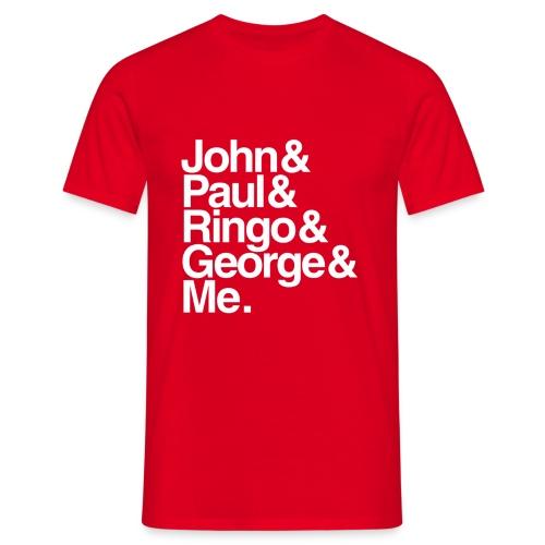 JPRG - John, Paul, Ringo, George & Me - Männer T-Shirt