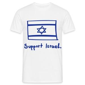 Support Israel - Men's T-Shirt
