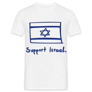 Support Israel - Men's T-Shirt