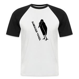 t-shirt schräger vogel witz humor komisch flügel feder tiershirt t-shirt tier - Männer Baseball-T-Shirt