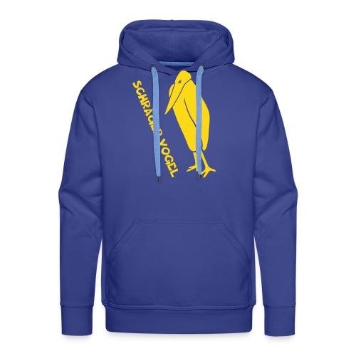 t-shirt schräger vogel witz humor komisch flügel feder tiershirt t-shirt tier - Männer Premium Hoodie