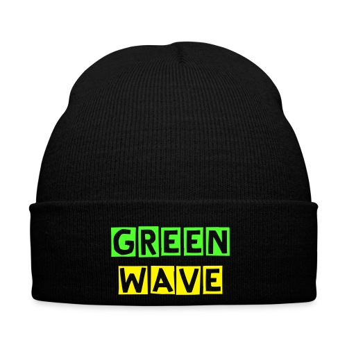 GREEN WAVE - Winter Hat