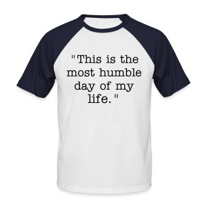 Humble - Men's T - Men's Baseball T-Shirt