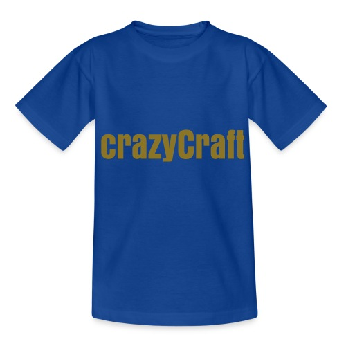 CrazyCraft T-Shirt Kind - Teenager T-Shirt