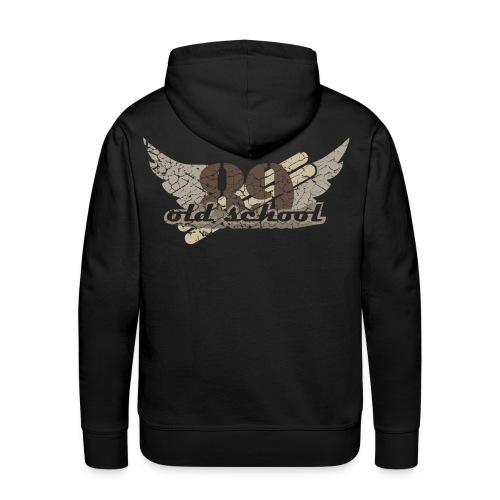 Männer Premium Hoodie - vintage,retro,old school,me creative,good looks,destroyed,T-Shirt,Männer Pullover,Kapuzenpullover,Kapuzenpulli,Herren Pullover,89