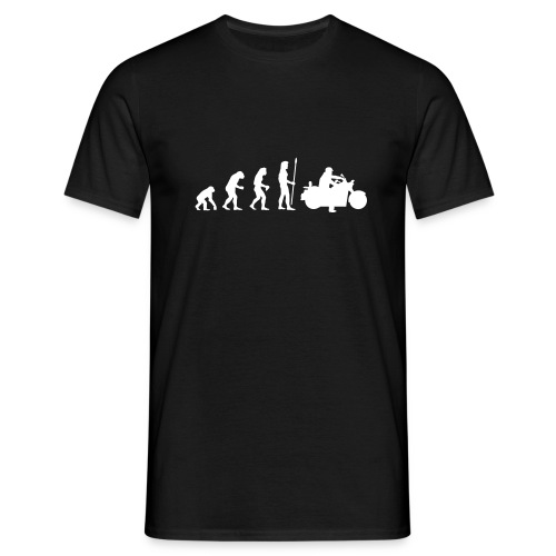 evolution_motorbike - Männer T-Shirt