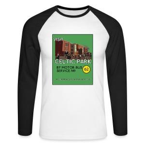 Visit Celtic Park - Men's Long Sleeve Baseball T-Shirt