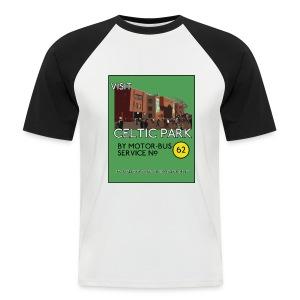 Visit Celtic Park - Men's Baseball T-Shirt