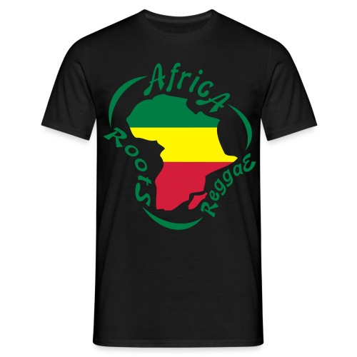 Africa Reggae roots - T-shirt Homme