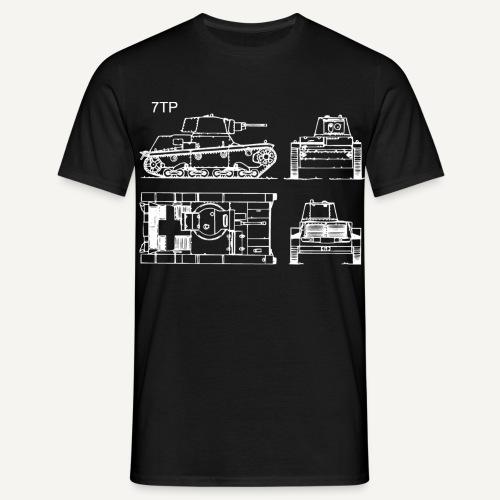 7tp - schemat - Koszulka męska