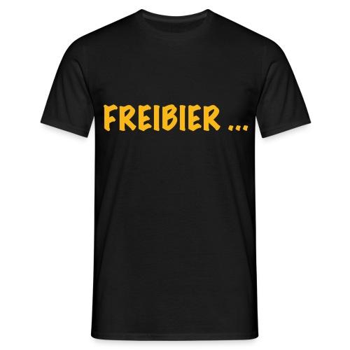 Ikke Hüftgold - Freibier ... - Männer T-Shirt