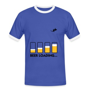 N-GEN BEER LOADING T-SHIRT - Men's Ringer Shirt
