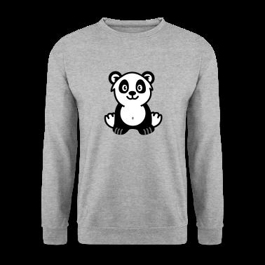 Cute panda bear Pullover