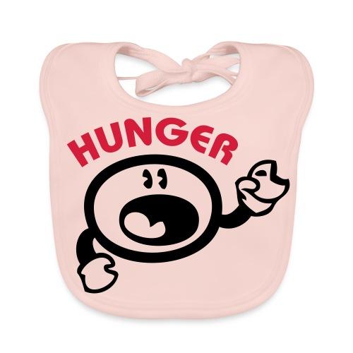 Girls Hunger Bib - Baby Organic Bib