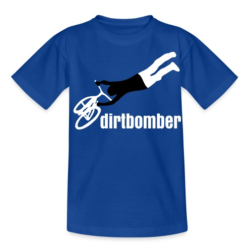 dirtbomber superseater blue kid - Teenager T-Shirt