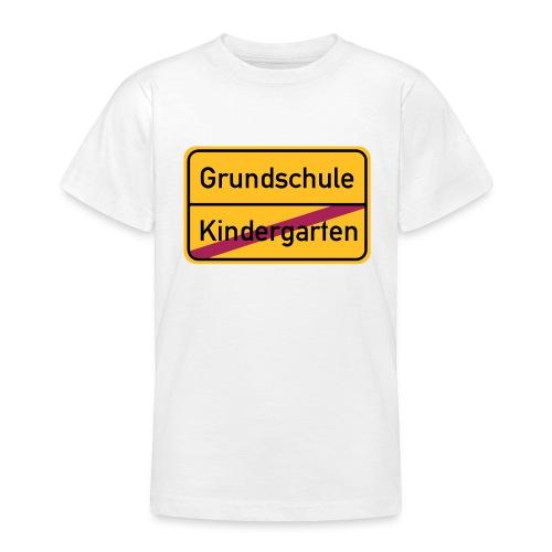 Ab in die Schule - Teenager T-Shirt