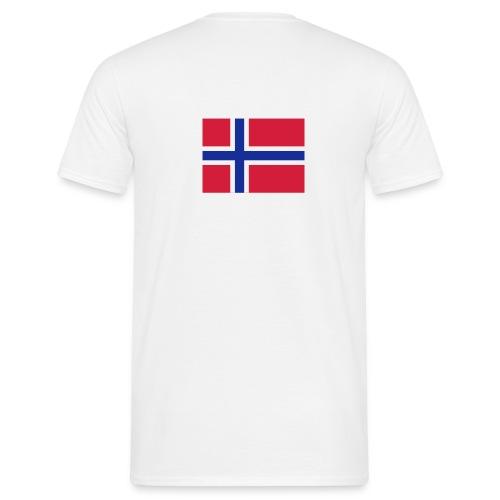 Norge - T-skjorte for menn