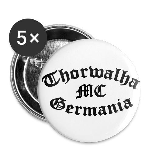 TW - Button - Schriftfarbe Schwarz - Buttons groß 56 mm