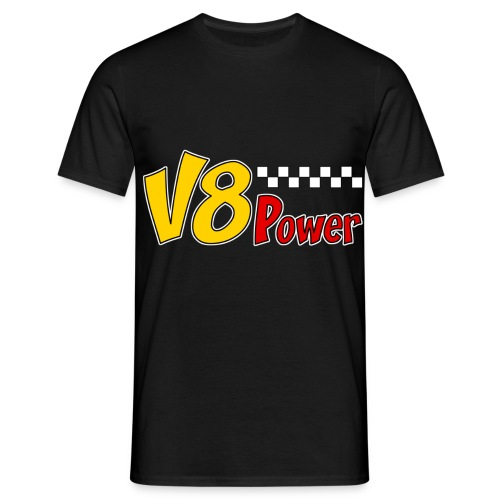 US V8 power t-shirt - Men's T-Shirt
