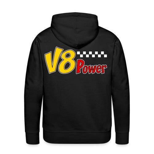 US V8 power sweatshirt - Men's Premium Hoodie