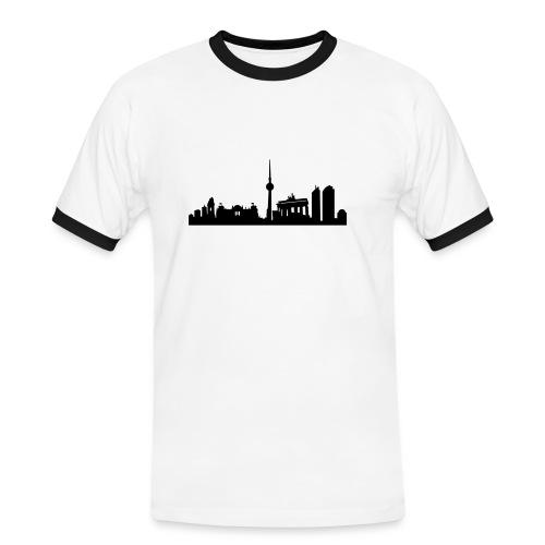 Berlin Skyline - Kontrast-Shirt - Männer Kontrast-T-Shirt