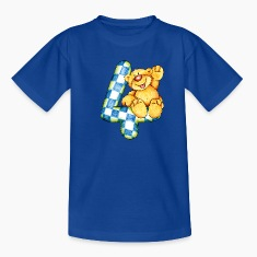 Sweet little bear and the 4 Kids' Shirts